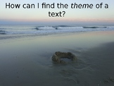 Finding Theme Powerpoint
