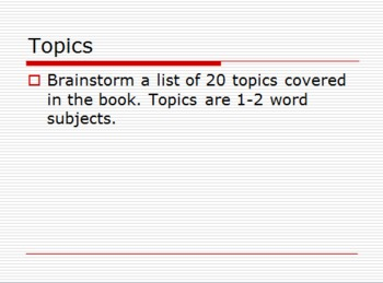 Finding Theme and Generating Thesis