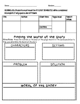 Finding Theme and Moral of the Story
