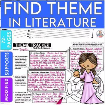 Theme Unit  for Literature