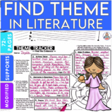 Find Themes in Literature Unit