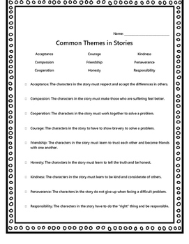 Finding Theme in Literature