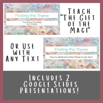Finding Theme in Literature Lesson Pack