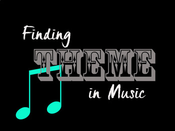 Finding Theme in Music