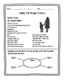Finding Theme in Poetry (Langston Hughes)