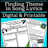Finding Theme in Song Lyrics