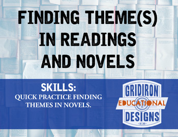 Finding Theme(s) in Readings