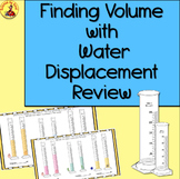Finding VOLUME with Water Displacement-BACK TO SCHOOL Acti