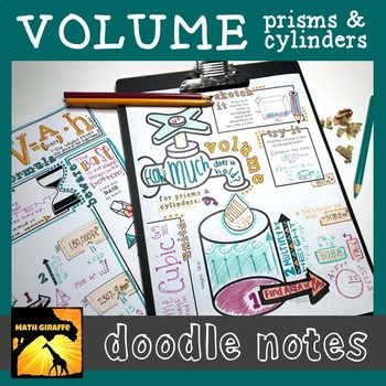 Finding Volume Doodle Notes