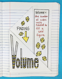 Doodle Notes - Finding Volume Foldable by Math Doodles