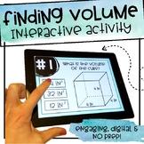 Finding Volume - Interactive Activity