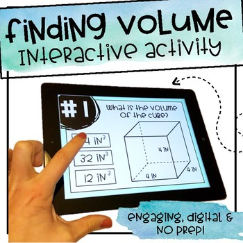 Finding Volume - Interactive Activity