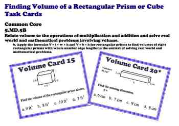 how to find volume of a cube prism