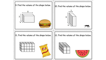 Finding Volume...is a picnic