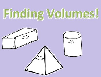 Finding Volume of 3D Prisms- Scaffolded