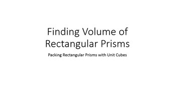 Finding Volume of Prisms (fractional edges) by Packing wit