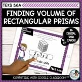 Finding Volume of Rectangular Prisms   Boom Cards Distance