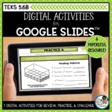 Finding Volume of Rectangular Prisms | Digital Math Activi