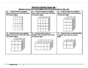 Finding Volume of Right Rectangular Prisms