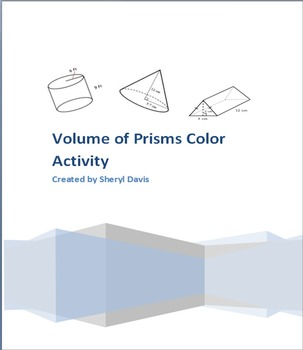 Finding Volumes of Prisms
