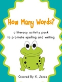 Finding Words Literacy Pack