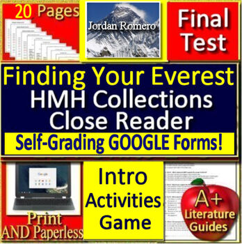 Finding Your Everest BUNDLE Introduction, Game, and Paperless Google Activities