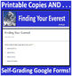 Finding Your Everest Paperless Activities for Google HMH Collections Close Read
