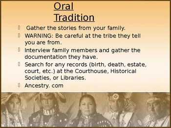 Finding Your Native American Roots