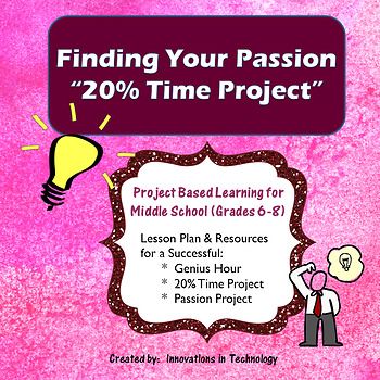 Finding Your Passion - 20% Time Project