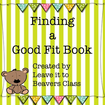 Finding a Good Fit Book