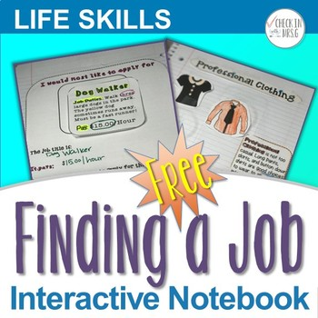 Vocational Interactive Notebook