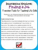 Finding a Job Interactive Notebook