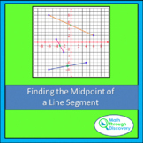 Geometry - Finding a Midpoint of a Line Segment