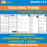 Finding a Theme - Free Lesson Plans for Fourth Grade and F