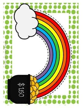 Finding and Counting the Pot of Gold {Counting Quarters}