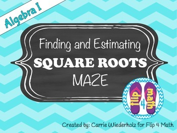 Finding and Estimating Square Roots Maze