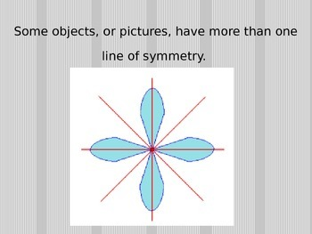 Finding lines of Symmetry Powerpoint