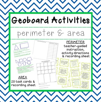 Finding Perimeter and Area with Geoboards