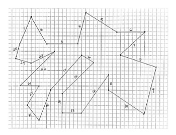 Finding slope from a shape on a graph