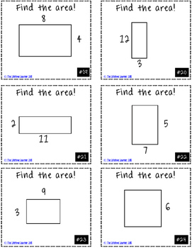 Finding the Area Game