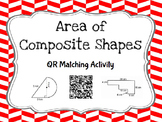 Finding the Area of Composite Figures - Matching Cards