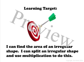 Finding the Area of Irregular Shapes