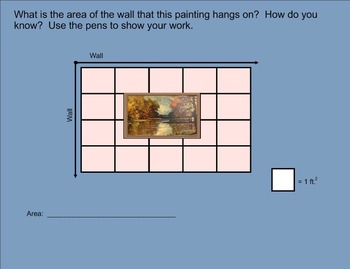 Finding the Area of Rectangles Using Multiplication - CCLS