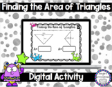 Finding the Area of Triangles for Google™ Classroom | Dist