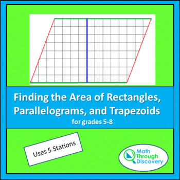Area of a Rectangle, Parallelogram and Trapezoid