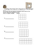 Finding the Area of a Square or Rectangle