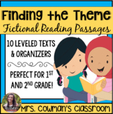 Finding the Central Message or Theme - Passages & Task Cards
