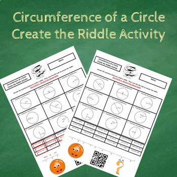 Finding the Circumference of a Circle Create the Riddle Activity