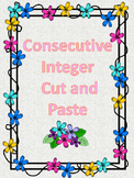Finding the Consecutive Integers -Cut and Paste Activity A