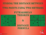 Finding the Distance Between Two Points Using Two Methods